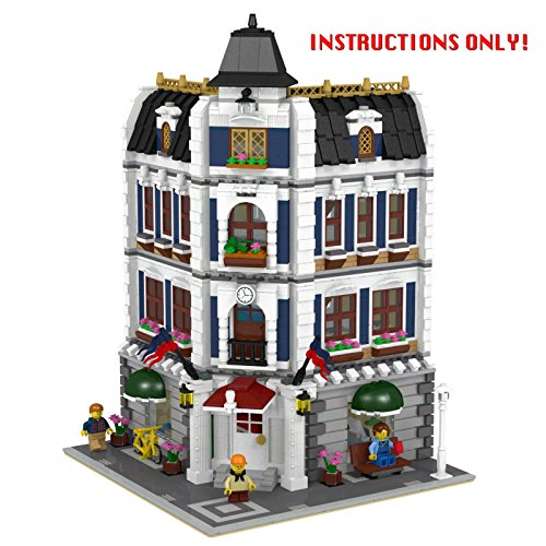 Lego All Modular Instructions Only Special Price 10224 Import