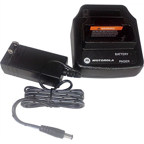 Motorola OEM Minitor V RLN5703 Drop-In AC Charger w/Back Slot for Spare Battery
