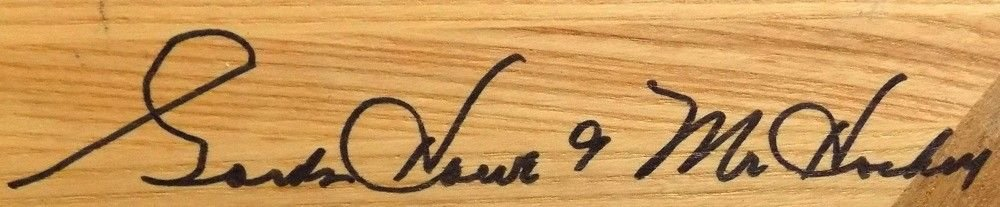 Gordie Howe Signed Autographed Limited Edition Northland Hockey Stick Mr. Hockey Insc. JSA Certified