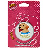 Popsocket Original Pets Golden Retriever Pet26, Pop Selfie, 155762, Branco
