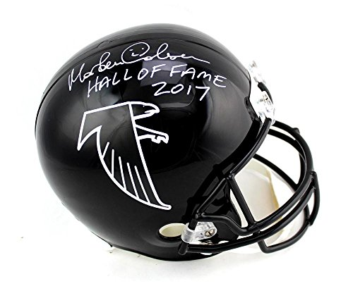 Atlanta Falcons Hall Of Fame - Morten Andersen Signed Atlanta Falcons Throwback Full Size Helmet with