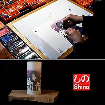 Amazon.com: YUREI – Lámpara japonesa hecha a mano – Japanese ...