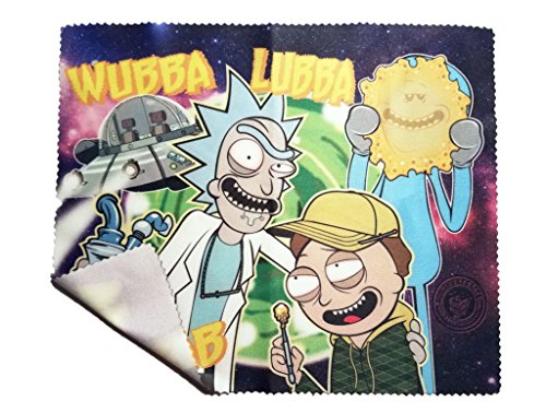 Rick and Morty Microfiber Rig Wipe by Roilty Extracts