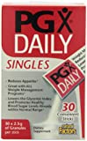 Natural Factors - PGX Daily Singles, Easy on-the-go Assistance with Normalizing Appetite, 2.5g of Granules per Stick, 30 Count