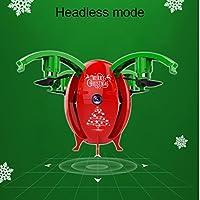 Rambly 2.4G Foldable Christmas Egg Drone 0.3MP Camera WIFI FPV RC Quadcopter HD Selfie