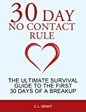 30 Day No Contact Rule: The Ultimate Survival Guide to the First 30 Days of a Breakup