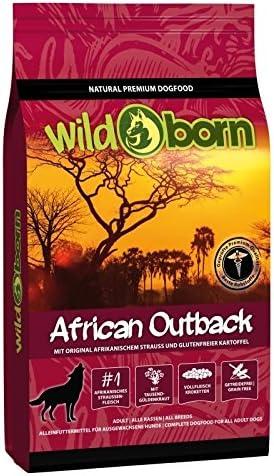 Wildborn-African-Outback-Getreidefreies-Hundefutter