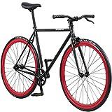 Pure Fix Cycles Papa Fixed Gear Youth Single Speed Urban Fixie Bike, 43cm/XX-Small