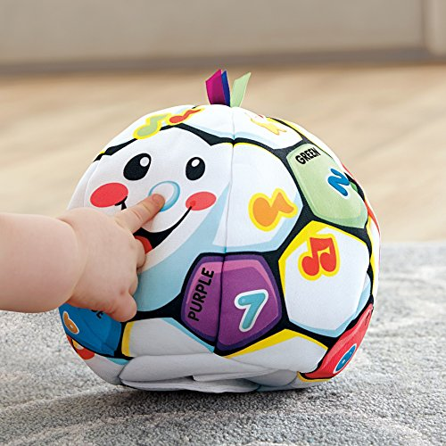 51BNAGuU1xL - Fisher-Price Laugh & Learn Singin Soccer Ball