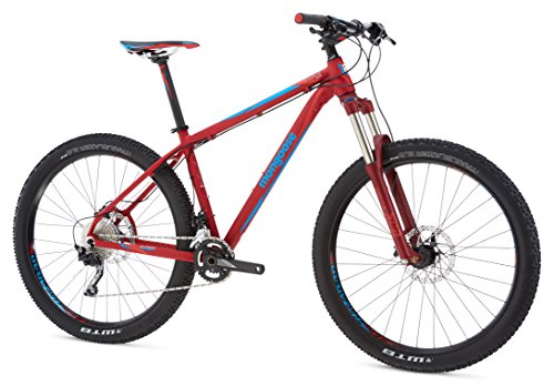 Mongoose Men's Tyax SUPA Expert 27.5+ Wheel, Burgundy, 17.5 inch/Medium