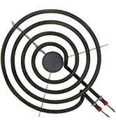Electric Range Surface Burner Element WB30X253 SP21YA Cooktop Stove Heating Element 8-Inch Surfac...