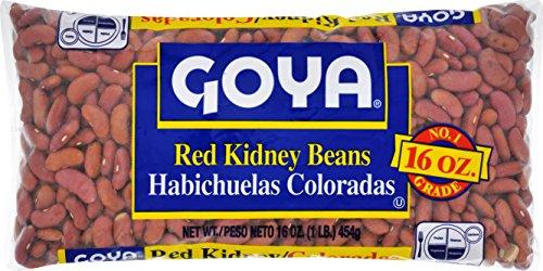 - Goya Kidney Beans, Red, 1 Pound