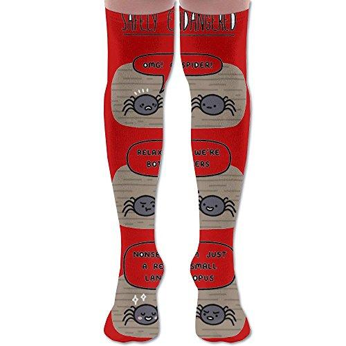 Shanks Cosplay Costume (Cute Animal Sipder Combination Female Knee High Socks, 60 Full Socks)