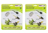 frog development - Pack of 2 Safari Ltd Life Cycle of a Frog Bundled by Maven Gifts