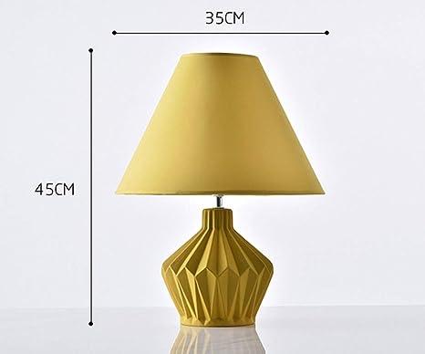 LAZ Lámpara de Escritorio Moderna lámpara de Mesa cerámica Lámpara ...