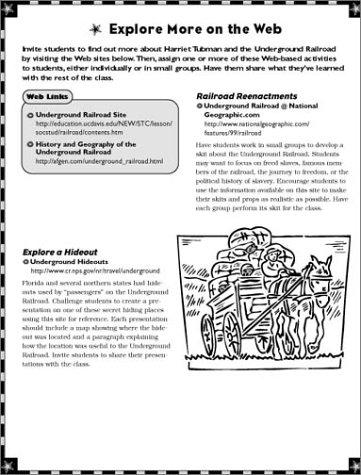 Instant Internet Activities Folder: Harriet Tubman & the ...