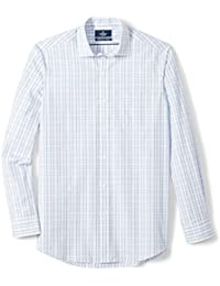 Men's Classic Fit Spread-Collar Supima Cotton Dress Casual Shirt