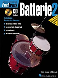 Fast Track Méthode de Batterie Volume 2 + CD
