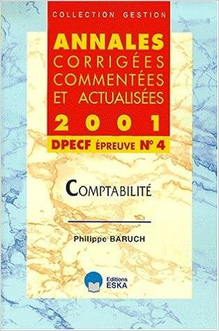Télécharger en ligne Comptabilité : DPECF, épreuve numéro 4 pdf ebook