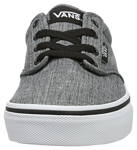 Low Rock Yt Textile Sneakers Top Black White Boys' Atwood Vans xTYqt1PA