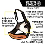 Klein Tools 60442 Face Mask, Reusable with