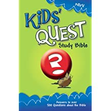 NIrV, Kids' Quest Study Bible, eBook: Real Questions, Real Answers