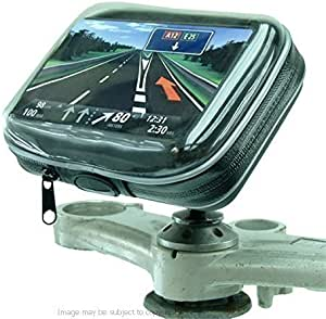 12mm Hexagon Hole GPS Mount fits Honda Blackbird /& Kawasaki Motorcycles for Arkon Cases Holders sku 19779