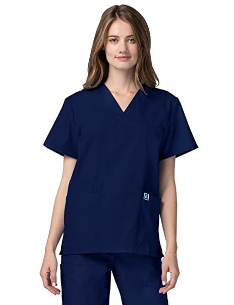 Adar Uniforms Casaca Laboral de Enfermería Unisex - 2600 Color NVY | Talla: S