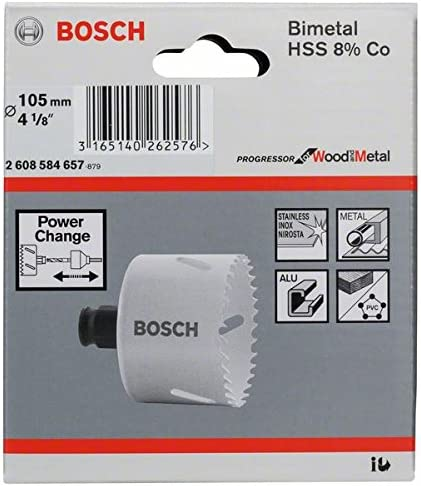 Bosch Professional 2 608 584 657 Sierra de corona 105 mm