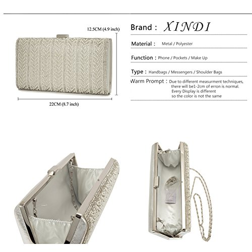 Evening Fashion Bags handbags Bags dinner PU Clutch bags cover Style1 party Messenger luxury for lady Women frfqw