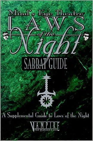 OP MET Sabbat Guide (Mind's Eye Theatre): Justin Achilli