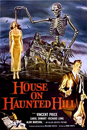 - 24x36 House on Haunted Hill- Vincent Price Poster by Innerwallz
