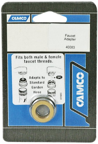 Camco 40083 Faucet Adapter - Lead Free