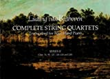Complete String Quartets Transcribed for Four-Hand Piano, Ludwig van Beethoven, 0486239756