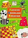 Activité bricolage création : Le Livre des juniors par Ansermet