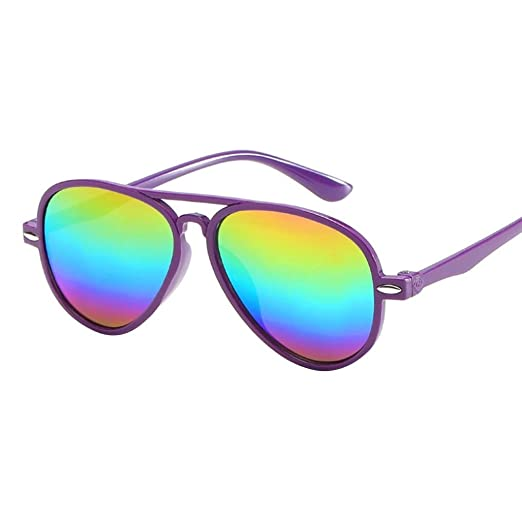 ce581dd59c9c Amazon.com: Limsea Hot Sale! Kids Retro Anti-UV Sunglasses Color ...