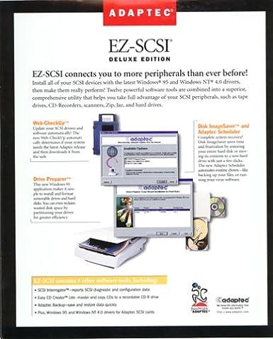 ADAPTEC EZ-SCSI DELUXE EDITION DESCARGAR DRIVER