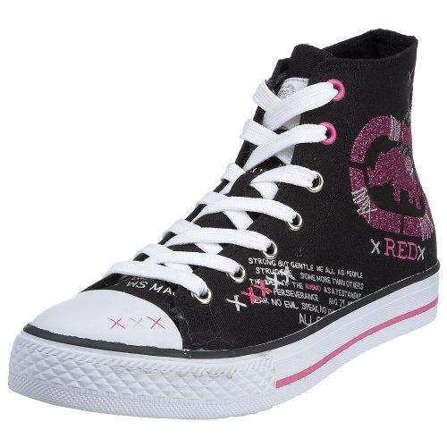 Marc Ecko Rhino Red Women's Chalsie - Prissy Boot Black/Hot Pink YQmM2pSJ