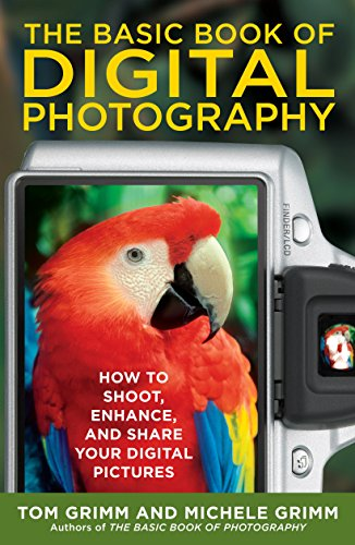 The Basic Book of Digital Photography: How to Shoot, Enhance, and Share Your Digital - Camera Lens Illustration