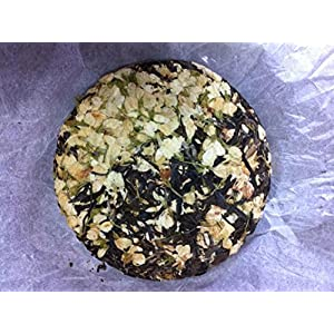 Jasmine flower mixed with Pu erh tea cake 200 g 24