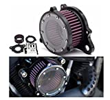 MD Group Motorcycle Filter Air Cleaner Intake Aluminum For Harley-Davidson XL883 1200 2004-2015