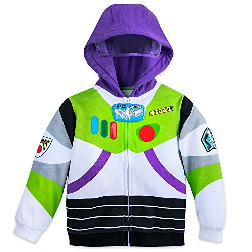 Disney Buzz Lightyear Costume Hoodie for Boys - Toy Story Size 4 Multi -