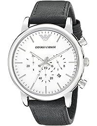 Emporio Armani Men's AR1807 Classic Analog Display Analog Quartz Black Watch