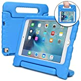 Apple iPad Mini 4 case for kids [SHOCK PROOF KIDS IPAD MINI CASE] COOPER DYNAMO Kidproof Child iPad Mini Cover for Toddlers Girls Boys | Kid Friendly Handle Stand, Lightweight, Screen Protector (Blue)