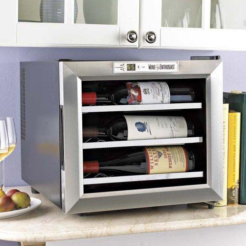 Wine Enthusiast Silent 12 Bottle Wine Refrigerator
