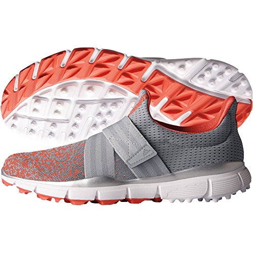adidas Women's Climacool Knit Golf Shoe, Light Onix, 8 M US by adidas