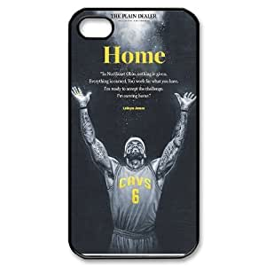 [H-DIY CASE] For Iphone 4 4S-Lebron James Cleveland Cavaliers-CASE-3