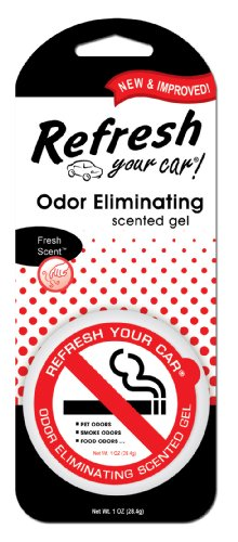 Refresh Your Car 09935 Scented Gel Can, 1 oz, Odor (4.5 Ounce Scented Gel)