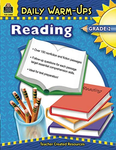 Teacher Created Resources 3488 Daily Warm-Ups Book, Reading, Grade 2]()