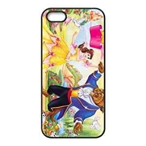 customized Beauty and the Beast for Iphone 5,5s case iphone 5-brandy-140064